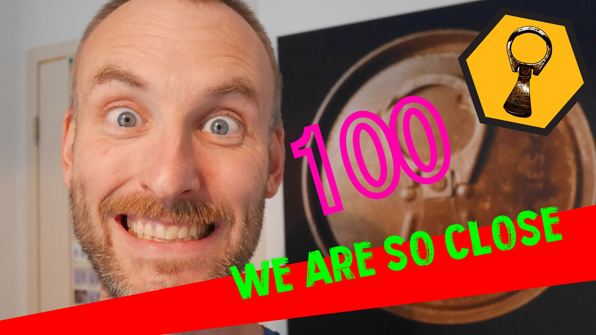 We are so close to one hundred!